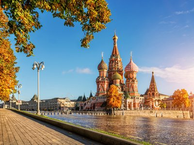 A Weekend with Children in Moscow